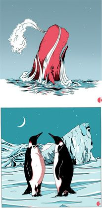 Illustrations by Thomas Danthony — Designspiration