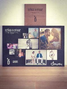 #bodas #wedding #historias #soporteparafotos #impresión #fotografías #fotos #imágenes #images #photos #photography #fotógrafos #photographer #regalos #presents #decoración #danimantis #cajademadera #comuniones #vida #detalles #erika #césar