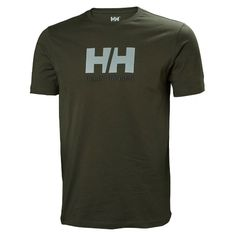 A short sleeve T-shirt for men in a up to date modernized classic fit Lightweight and comfortable quality 100 cotton single jersey T-shirt Helly Hansen, Classic, Fit, Sleeves, Cotton, T Shirt, Tops, Fashion, Moda