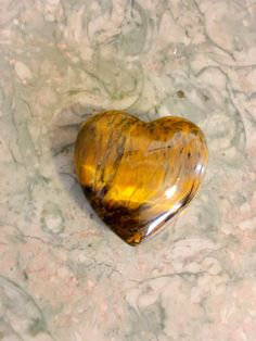 Tigers Eye Crystal Heart With FREE by WingsAndThingsbyAlex on Etsy