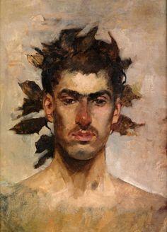 Ignacio Pinazo Camarlench (1849-1916) - Bacchus.