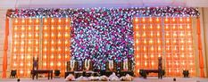 #receptiondecor #weddingdecor #reception #wedding #indianwedding #bigfatindianwedding #weddingideas #flowers #weddingplanner #decor #weddingreception #Hyderabad #bridetobe #weddinginspiration #floral #weddingplanning #indianweddingstyle #indianweddingdecor #floraldecor #weddings #Hinduwedding #Marseventplanners #tablescape #trendingcouple Reception Stage Decor, Reception Party, Indian Wedding Decorations, Reception Decorations, Wedding Ceremony, Our Wedding, Big Fat Indian Wedding, Made In Heaven, Hyderabad