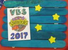 Astronomical Frame Craft @ Lifeway's VBS Preview Event in Fort Worth, TX. VBS 2017 Galactic Starveyors Photo Only-no link
