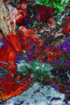 Abstract Art Mixed Media - Stream Of Unconsciousness #02   Flickr - Photo Sharing!