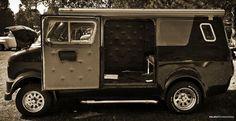 Custom Van Shows 2011   custom Bedford CF at a car show in Toutrek Park, South Africa (28 ...: