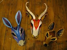 animal masks for childrens theatre
