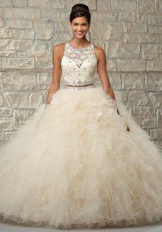 Stunning Vizcaya Two Piece Quinceanera Prom Dress 89026