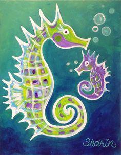 """Seahorses"""