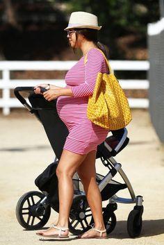 Kourtney Kardashian's baby bump looks so cute in Rachel Pally!
