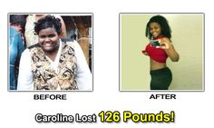 Weight Loss Success Stories - Caroline Lost 126 Pounds.  She does 60 minutes of incline treadmill workouts.  #motivation