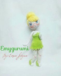 MY handmade doll متاحه للطلب الااان طولعا28cm اى طلب او استفسار ارسل رساله 😉 #handmade #crochet #crocheting #crochetbraids #doll#dolls…