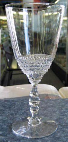 Tear Drop Water Goblet Duncan Miller