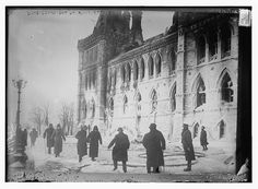 Photo of Duke Connaught at Ruins, Ottawa Number 15066 Vintage 30717 Parliament Of Canada, Capital Of Canada, Ottawa Canada, Library Of Congress, Old Photos, Ontario, Touring, The Past, Laundry Hacks