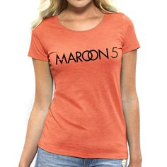 MAROON 5 Shirt Maroon 5 Womens T shirt Maroon 5 by ToniKaramanoff