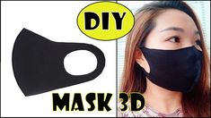 I have made a fabric face mask video tutorial. In this simple face mask sewing video, I . Easy Face Masks, Diy Face Mask, Mascara 3d, Mode Man, Diy 3d, Mouth Mask Fashion, Mini Hands, 3d Face, Easy Sewing Patterns