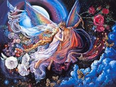Awesome Wall Art Painting With Free - Josephine Wall Artwork, Josephine, Mystical Fantasy Paintings by Josephine Wall, Love, Fantasy, Painting, Well, Art Wall, No Love, Loves me Not