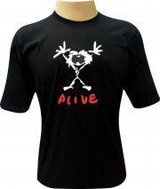 Camiseta Pearl Jam Alive - Camisetas Personalizadas, Engraçadas e Criativas