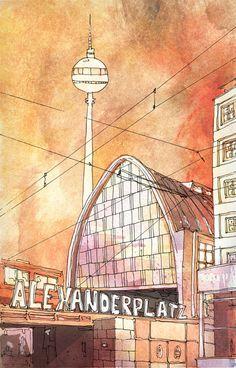 #Alexanderplatz #Berlin