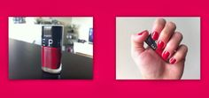 Les Tribulations des Pipelettes Sephora Vernis Red Excess