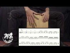 Lezione di cajon 4 - Tecnica - YouTube