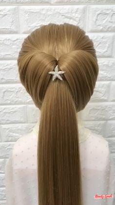 Hairdo For Long Hair, Bun Hairstyles For Long Hair, Braided Hairstyles, Hair Tutorials For Medium Hair, Hairstyle Tutorials, Hair Style Vedio, Hair Up Styles, Hair Videos, Hair Hacks