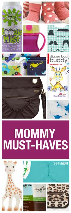 Not a gadget but great regardless! Packing a diaper bag? Here's what we think you need in it! #mom