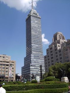 Torre Latinoamericana,Mexico DF