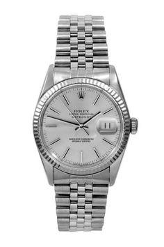 Adi Rolex Men's Datejust Stainless Steel Watch by Austin's Watches on @HauteLook