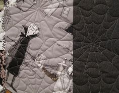 o m g spider web quilting