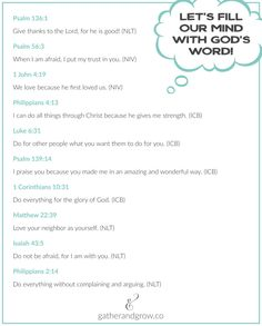 Simple Bible verses kids can memorize. . . with printable!