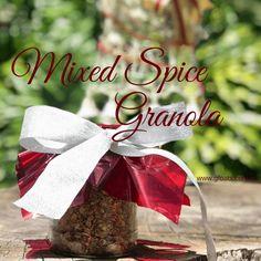 GF Oats Mixed Spice Granola A Christmas Delight Recipe