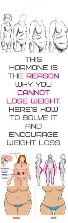 THIS HORMONE IS THE REASON WHY YOU CANNOT LOSE WEIGHT. HERES HOW TO SOLVE IT AND ENCOURAGE WEIGHT LOSS