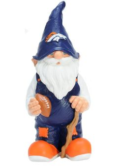 Auburn 2008 Team Gnome: Show off your team pride in your Garden or around the house with this officially licensed NCAA Garden gnome from team beans. The team-colored gnome is hand crafted and hand painted with a raised team logo on the hat. Denver Broncos Football, Broncos Fans, Cincinnati Bengals, Auburn Tigers, Nfl Team Colors, Kansas State Wildcats, Nittany Lion, Gnome Garden, Garden Gear