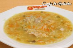 Canja (Chicken & rice soup)