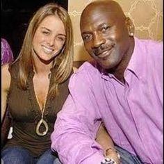 Michael Jordan and wife