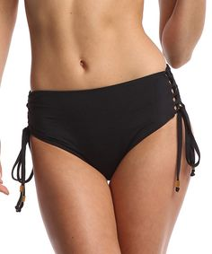 Love this Black Miranda Bikini Bottom by Beach Rays on #zulily! #zulilyfinds