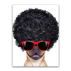 (1) Animal Pictures Decor Children Room Creativity BAD GIRL Funny Dog Bedroom Canvas, Girl Humor, Funny Dogs, Animal Pictures, Kids Room, Creativity, Children, Animals, Decor