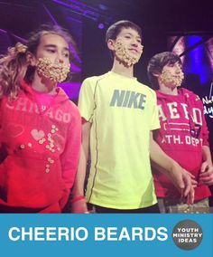 Perfect NO SHAVE NOVEMBER Jr high game by @elevatewc via @funninja_org. Youth Ministry Ideas and Games.