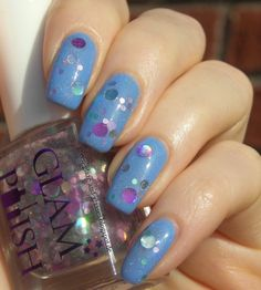 Green, Glaze & Glasses: Blue Saturday (Blue Friday) - Faby The Dance of the Graces & Glam Polish Would you believe?