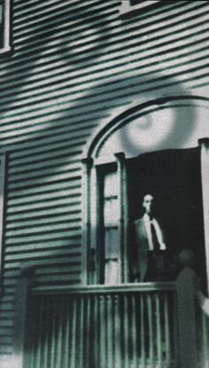"""melancholiceuphoria: """"HP Lovecraft in the doorway of his Providence home. Hp Lovecraft, Lovecraft Cthulhu, Providence Homes, Yog Sothoth, Call Of Cthulhu Rpg, Lovecraftian Horror, Horror Fiction, Pulp, Fictional World"""