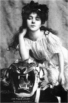 Gilded Age model Evelyn Nesbit — arguably the most famous face of the early 20th century — is remembered today, as a tease and a gold digger. She has long been held responsible for the 1906 murder of the architect Stanford White, who was shot by Nesbit's jealous husband during a performance at what was the White designed Madison Square Garden.