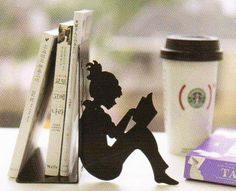 Bookend by FePro on Etsy, $14.00