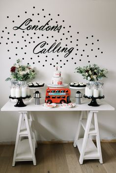 London's Calling 1st birthday party