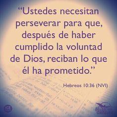 Hebreos 10:36