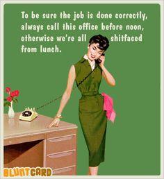 Funny Secretary Cards | Zazzle |Funny Signs Office Secretary