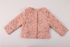 Misha Flamingo Print Jacket