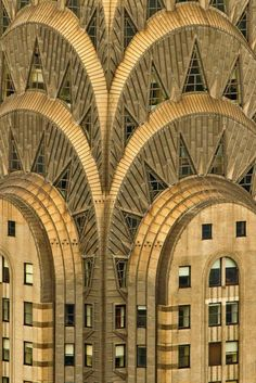 The Chrysler Building - New York, New York Art Deco Architectural Style