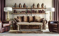 sofá clásico salón