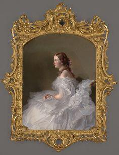Portrait of Lydia Schabelsky, Baroness Staël-Holstein CA. 1857–58  Franz Xaver Winterhalter German , 1805 - 1873.