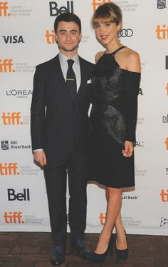 Zoe Kazan with Daniel Radcliffe, Toronto International Film Festival http://ourworld.honornyc.com/resort14look-10/